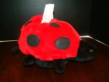 "Ladybug Kleenex Holder - Plush - Unique - Approx. 12"" x 10"" x 7"" - Used"