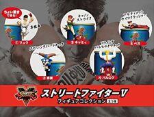 "DyDo Coffee Capcom Japan Street Fighter V 2"" Mini Game Figure Collection Set 5"