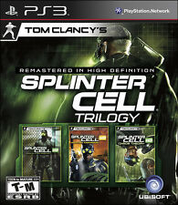 Tom Clancy''s Splinter Cell Classic Trilogy HD PS3 New Playstation 3