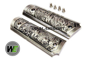 WE Carved Patterns Pistol Grip Cover For 1911 Sereis Handgun WE0532