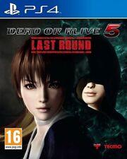 Dead OR ALIVE 5 Last Round per PAL PS4 (nuovo e sigillato)