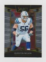 2018 Panini Select Concourse Quenton Nelson Rookie RC Colts #2
