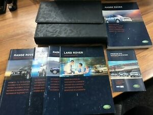 LAND ROVER RANGE ROVER DISCOVERY 3 2009-2016 OWNERS MANUAL HANDBOOK WALLET