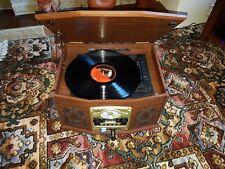 HIFI STEREO SYSTEM VINYL RECORD TURNTABLE CD TAPE PLAYER FM RADIO USB SD AUDIO