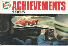 Castrol Achievements 1965 Racing + Rallying successes GP TT Trials Le Mans +