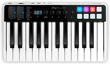 New Ik Multimedia iRig Keys i/o 25 Keyboard Controller Mac Pc Ios
