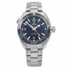 Omega Seamaster Blue Dial Steel Ceramic Automatic Mens Watch 215.30.44.21.03.001