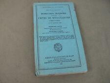 1933, MANUEL: INSTRUCTION pour les UNITES DE MITRAILLEUSES. MANUAL MACHINE GUN