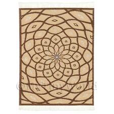 Dolls House Art Deco Small Rectangular Carpet / Rug (adnsr29)