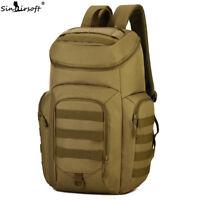 40L Men Backpack Tactical Military Travel Rucksack 15 Inch Laptop Bag Camping