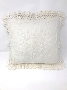 Lace Boudoir Pillow