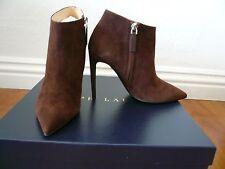 Ralph Lauren Collection Tasella-drs Dark Brown Suede Shoes Sz 6 7.5 9.5