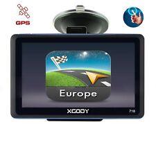 XGODY 7'' GPS Navigation Système Voiture Poids Lourd EU 2D3D Carte Ecran tactile