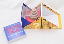 Maths Master 3D Book in a Box Game 100 Entertaining Puzzles Making Maths Fun