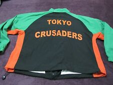 VINTAGE TOKYO CRUSADERS RUGBY TEAM ISSUED JACKET SIZE XL GREAT SHAPE