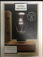 Studio Mercantile Levitating Vintage LED Light Bulb  Float by Induction Gravity