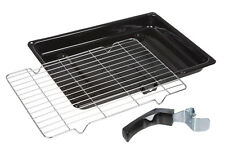 Hotpoint Indesit Genuine Oven Cooker Grill Pan and Tray Grid Rack 380mm x 280mm