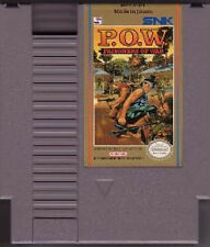 POW P.O.W. PRISONERS OF WAR ORIGINAL NINTENDO GAME SYSTEM NES HQ