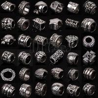 Wholesale Mix Tibetan Silver Spacer Beads Fit European Charm Bracelet & Necklace