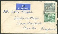 BRITISH CYPRUS TO ENGLAND Air Mail Cover 1949 VF