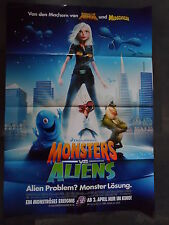 MONSTERS VS ALIENS - Filmplakat A1 - Rob Letterman
