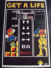 Nintendo NES poster print