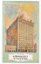 The Roosevelt Hotel New Orleans Louisiana postcard