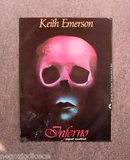 R497 - Advertising Pubblicità -1980- KEITH EMERSON, INFERNO