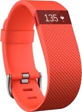 Pulsera Fitbit Charge HR Tangerine.