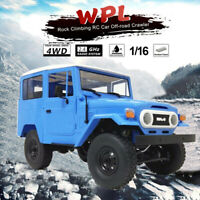 WPL C34 1/16 RTR 4WD 2.4G Military Truck Buggy Crawler Off Road RC Car For Kids