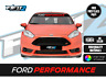 Ford Fiesta ST Sunstrip Ford Performance Sun Strip Decal FITS All Ford Cars
