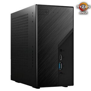 ASRock DeskMini X300 Mini PC Barebone Support AMD AM4 CPU, BT/WIFI/HDMI/DP/USB-C