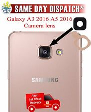 New Genuine back Rear camera glass lens for Galaxy A3 2016 A310, A5 2016 A510 UK