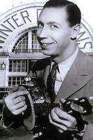 George Formby Stretched Art Canvas Movie Poster Print Movie Star