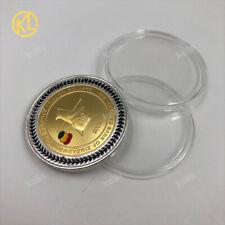 10pcs Gold Plated Zimbabwe One Hundred Trillion Dollars Buffalo Bullion Coin
