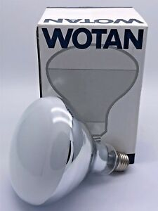 WOTAN HWL-R 160W De Lux Lamp Light Reflector Discharge E27 240-250V Osram German