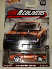 Hot Wheels Car Culture HW Redliners '68 Mercury Cougar with Real Riders