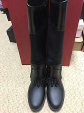 Women's Ferragamo Boots Black Size 9