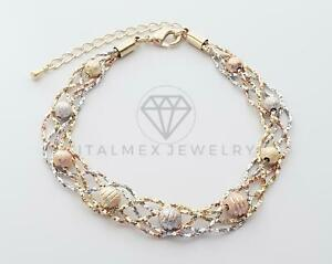 Gold Plated Luxury Design Bracelet|Pulsera Hermosa de Diseñador Oro Laminado 18K
