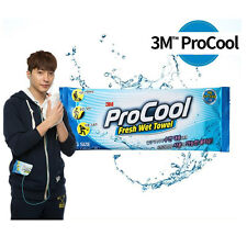 "3M ProCool Fresh Wet Cooling Towel Big Size Tissue 10 Pack 12.5"" x 25.6"""
