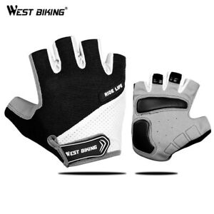 WEST BIKING Half Finger Cycling Gloves Outdoor Sports Fishing Cycling Gloves
