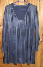 Robe / tunique gris métallisé à manches longues T  42
