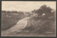 Postcard Wareham nr Poole Dorset the River Trent and Old Mill early view MJRB