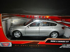 Motormax BMW 5 Series GT Silver 1/24