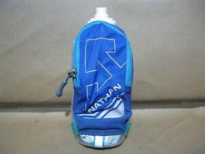 NEW 18oz Nathan SpeedDraw Plus Insulated Handheld Water Bottle Running Hydration