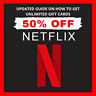 Get Here Netflix Giftcards Guide UP To 50-70% Off Discounted