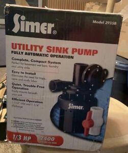 Simer Utilty Sink Pump