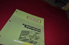 Rome Agricultural Equipment for 1974 Dealers Brochure YABE4