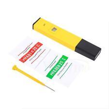 Numérique LCD PH-mètre Compteur Testeur Pour Eau Hydroponic Sol Piscine Aquarium