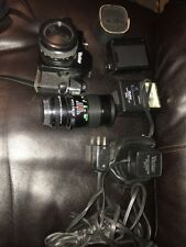 Vivitar 250/SL 35mm SLR Film Camera M42 Mount + 50mm F1.8 Lens Lot